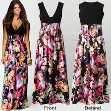 Resultado de imagen para vestidos largos de verano