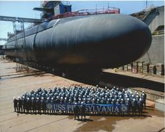 USS Pennsylvania - Largest Submarine in US Millitary Navy Marine, Navy Military, Uss Pennsylvania, Naval History, Women's History, British History, Ancient History, Yachts, Special Forces