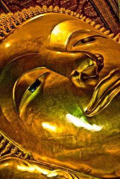 Ancient Peoples buried their dead and placed gold mask over their faces to preserve their image in the afterlife.  TreasureForce