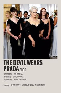 Alternative Minimalist Movie/Show Poster - The Devil Wears Prada - 5016 Wallpaper Iconic Movie Posters, Minimal Movie Posters, Minimal Poster, Iconic Movies, Film Posters, Film Polaroid, Polaroids, Film Maker, Photo Bleu
