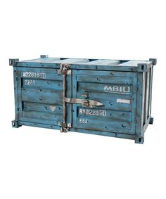 Rectangular Freight Cabinet by Industrial Interiors