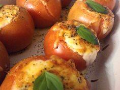 Imagem da receita Tomate recheado com creme de ricota