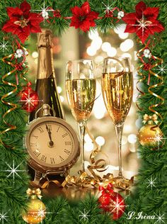 Happy new year – - Neujahr Happy New Year Gif, Happy New Year Message, Happy New Years Eve, Happy New Year Images, Happy New Year Cards, Happy New Year Greetings, New Year Wishes, Merry Christmas And Happy New Year, New Years Eve Party