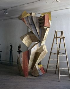 Concept Models Architecture, Art And Architecture, Abstract Sculpture, Wood Sculpture, Abstract Painters, Abstract Art, Art Object, Wood Art, Contemporary Art