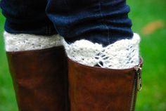 Fashion Boot Cuffs by KaysCozies on Etsy, $10.00