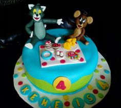 Tom and jerry cake by Chihavillah 2