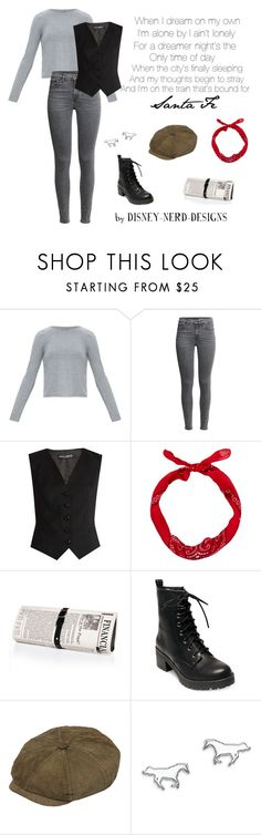 """Jack Kelly - Santa Fe"" by disney-nerd-designs ❤ liked on Polyvore featuring Dolce&Gabbana, Papà Razzi, Madden Girl, Henschel and Thomas Sabo"