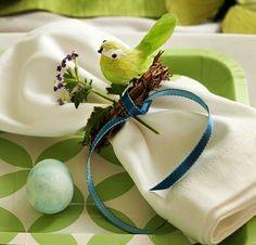 awesome Frische Tischdeko zu Ostern