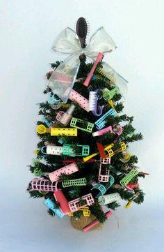 *Cute Christmas tree for Beauty shop*