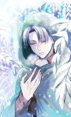 Levi Ackerman in Winter - Attack on Titan - Shingeki no Kyojin Ereri, Levihan, Fanarts Anime, Manga Anime, Anime Art, Attack On Titan Fanart, Attack On Titan Levi, Eren E Levi, Armin