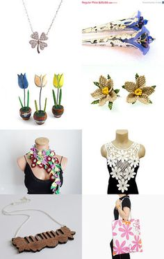 Floral by Renata on Etsy--Pinned with TreasuryPin.com
