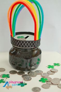 Pot-o-Gold-DIY-Piggy-Bank St. Patrick's day