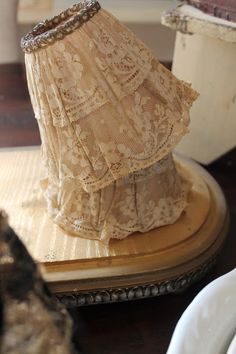 French boudoir lampshades