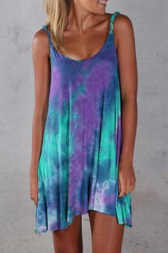 Gypsy Lagoon Dress>>> I <3 tie dye!