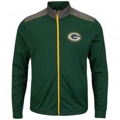 d9041161f Green Bay Packers Mens Green Team Tech Full-Zip Jacket   leatherjacketsformengreen Green Bay Packers