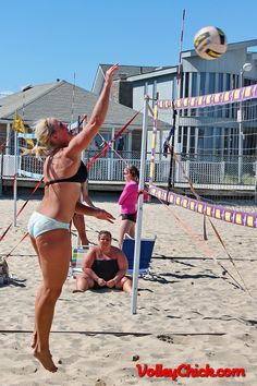 Beach Volleyball Linda In Point Pleasant Nj Volley