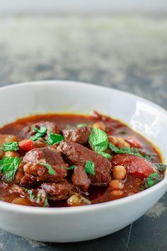 Moroccan Lamb Stew/zweet potato not chick peas