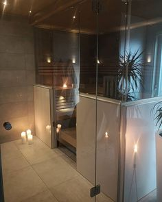 Useful Walk-in Shower Design Ideas For Smaller Bathrooms – Home Dcorz Natural Bathroom, Small Bathroom, Bathroom Ideas, Walk In Shower Designs, Upstairs Bathrooms, Decor Interior Design, Decoration, Sweet Home, Relax