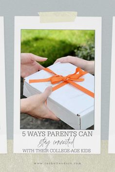 #AD 5 Ways Parents Can Stay Connected with College-Age Kids including how to prepare the perfect care package including Johnson & Johnson family products. #carepackage #college #parenting Johnson Family, Johnson And Johnson, Good Parenting, Parenting Hacks, Healty Dinner, Coffee Cards, Healthy Kids, Healthy Living, Recipe For Mom