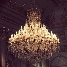 Chandelier Photograph - Brussels Belgium Royal Palace