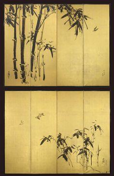 Japanese Bamboo Drawings | Japanese Bamboo Art Gregg baker asian art