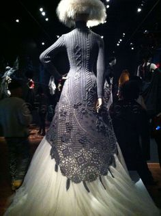 From The Fashion World of Jaen Paul Gaultier: From the Sidewalk to the Catwalk. deYoung Fine Arts Museum of San Francisco