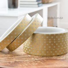 Masking Tape via www.kukuwaja.de #goldfoil #kukuwaja #maskingtape #tape #klebeband #xmas #weihnachten #maskingtapeliebe #decotape #packaging