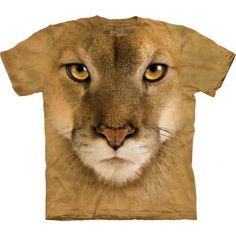 Mountain Lion Face | Dedoles.cz