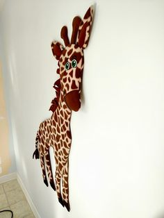 """""""Giraffe side view"""""""
