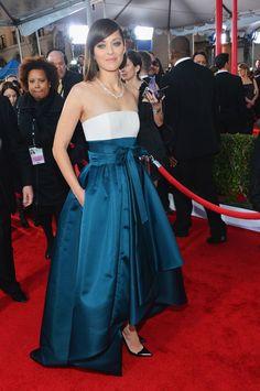 Marion Cotillard | SAG Awards 2013 Red Carpet | Tom & Lorenzo