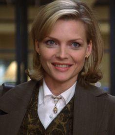 "Michelle Pfeiffer as Melanie Parker in ""One Fine day""."