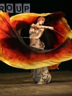 I want some fire colored silk veils for poi/fan dancing so badly