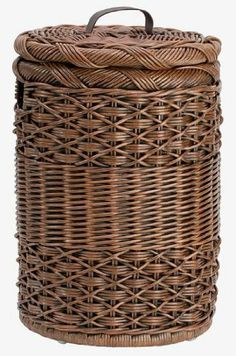 The Basket Lady Small Round Hamper by The Basket Lady. $67.00