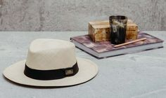 Finest Ecuadorian hat with Singita brass branding. Panama Hat, Hand Weaving, Branding, Brass, Boutique, Gallery, Hand Knitting, Brand Management, Roof Rack