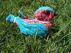 Cute bird pincushion