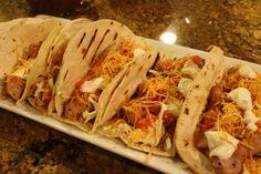 Del Taco Chicken Soft Tacos copycat...