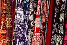 Fabric, Cloth, Pattern, Violet