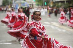 Aspectos sobre el desfile del Encuentro Internacional del #Mariachi y la #charrería en #Guadalajara
