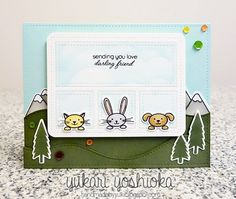 """""""Sending you love"""" by Handmade by Yuki 