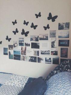 my room idea Dream Rooms, Dream Bedroom, Girls Bedroom, Bedroom Decor, Bedroom Ideas, Wall Decor, Bedroom Inspiration, Bedroom Wall, Design Inspiration