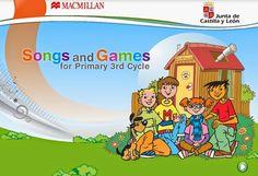 """""""Songs and Games"""" de la Editorial Macmillan y la Junta de Castilla y León para alumnos de 5º y 6º de Primaria."""