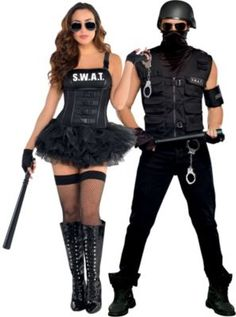 SWAT Couples Costumes