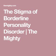What is borderline personality disorder? What are the signs and symptoms of BPD? We've got answers to all of you questions about the complex mental illness. Borderline Personality Disorder Symptoms, Bpd Symptoms, Signs Of Anxiety, Mental Issues, Mental Health Disorders, Dbt, Anxiety Disorder, Mood Swings, Mental Health Awareness