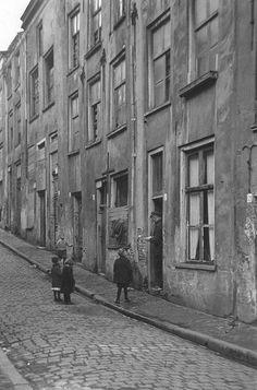 Kinderen uit de beneden stad.