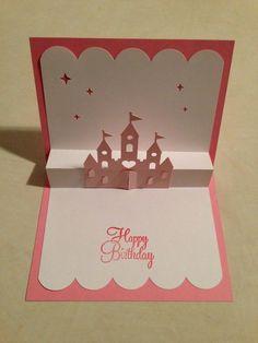 Pop up Birthday card...Castle