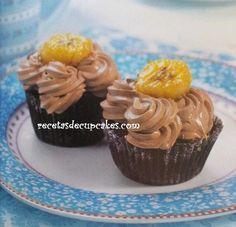 Cupcakes Veganos de Chocolate y plátano