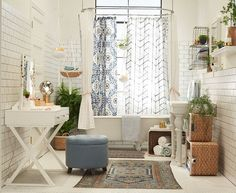Bathrooms are people, too and deserve time, consideration and some styling. So we treated this bathroom like the princess it is and styled the heck out of it. For this video we took on the personality of a 20 something bohemian city girl. Her apartment is small (even though this bathroom is twice the size... Read More …