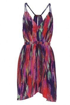 Printed Summer Dress #bevellowishlist