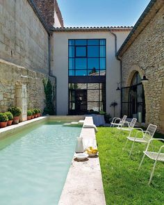 francehouse6 Pool. ideas, backyard, patio, diy, landscape, deck, party, garden, outdoor, house, swimming, water, beach.