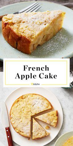 Mini Desserts, Fall Desserts, Delicious Desserts, Easy Apple Desserts, Healthy Apple Desserts, Easy Apple Cake, French Apple Cake, French Cake, Apple Cake Recipes